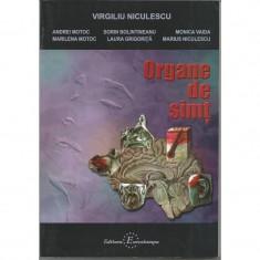 Organe de simt - Virgiliu Niculescu