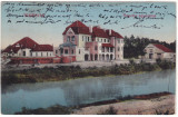 #2394- Romania, Temesvár, Timisoara carte post. circulata 1912: Asoc. Regatta