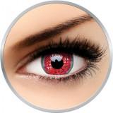 Crazy Melon Colic - lentile de contact colorate rosii anuale - 360 purtari (2 lentile/cutie)