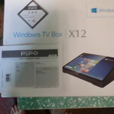 "PIPO X12 Mini PC 10.8"" 1920*1280   Mini PC Z8350 Quad Core 4G+64G 10000mA"