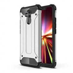 Husa Huawei Mate 20 Lite - Hybrid Armor Silver
