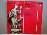 J.C.Bach/J.S.Bach – Symph e-dur/ Symph. no 5 (1962/Musicaphon/RFG) - VINIL/ (M), Philips