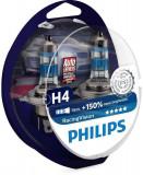Bec halogen H4 Philips Racing Vision +150% 86103