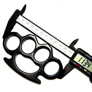 Set baston telescopic 66 cm box negru 0.5 cm grosime