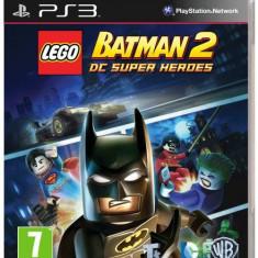 LEGO Batman 2 DC Super Heroes PS3, Actiune, 12+