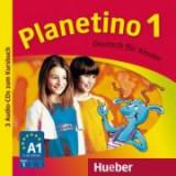Planetino 1 3 Audio-CDs zum Kursbuch Deutsch fur Kinder - Gabriele Kopp