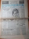 Ziarul dimineata 1 iunie 1990-radiovacanta emite