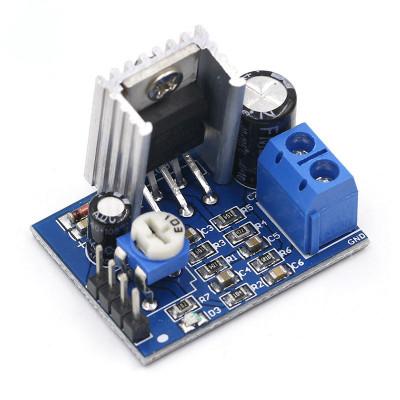 Modul amplificare TDA2030A / Amplificator mono 18 w + radiator (t.341) foto