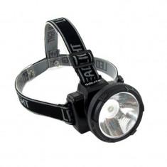 Lanterna frontala cu acumulator Gdlite, curea reglabila