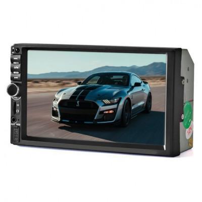 MP5 player auto 7030DM, ecran tactil 7 inch, Bluetooth USB Mirrorlink foto