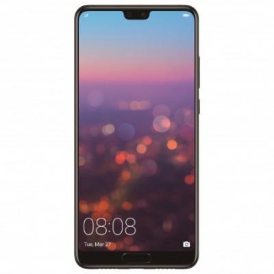 Telefon mobil Huawei P20, Dual SIM, 128GB, 4G, Black foto