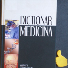 Dictionar de medicina Univers Enciclopedic