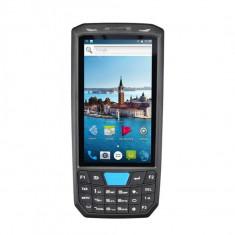 PDA cititor coduri de bare 2D, Bluetooth, WiFi, POS slot SIM 4G, TF, GPS