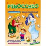 Pinocchio - Colorezi si inveti sa scrii.