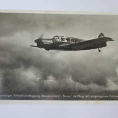 Carte postala/fotografie originala avion german Messerschmitt Bf 108 Taifun