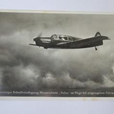 Cumpara ieftin Carte postala/fotografie originala avion german Messerschmitt Bf 108 Taifun