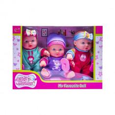 Set 3 bebelusi cu accesorii MayMay