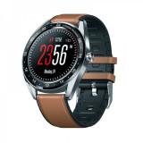 Ceas Smartwatch ZEBLAZE NEO 1.3 IPS TouchScreen,bluetooth 4.0 , waterproof 5ATM, cu HR si tensiune arteriala, maro