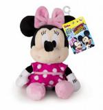 Jucarie de plus cu sunete Minnie Mouse, 17 cm, Disney