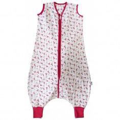 Sac de dormit cu picioruse Flamingo 12-18 luni 1.0 Tog, Multicolor