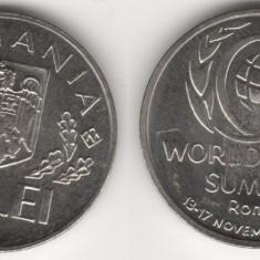 Set 10 lei FAO ROMA 1996  UNC + 10 lei  FAO 1995