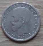 Moneda argint 1 leu 1906