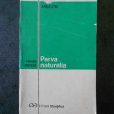ARISTOTEL - PARVA NATURALIA