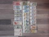 Lot bancnote straine