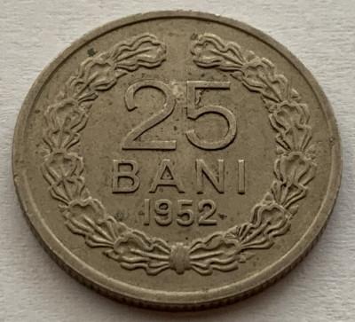 25 Bani 1952 Romania, XF foto