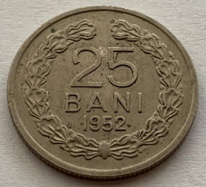25 Bani 1952 Romania, XF