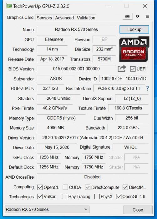 gaming quadcore RX 570 4GB SSD carcasa iluminare led transport gratis