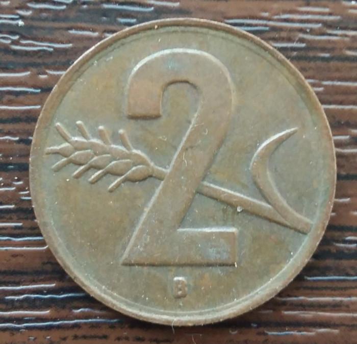 (M2554) MONEDA ELVETIA - 2 RAPPEN 1948