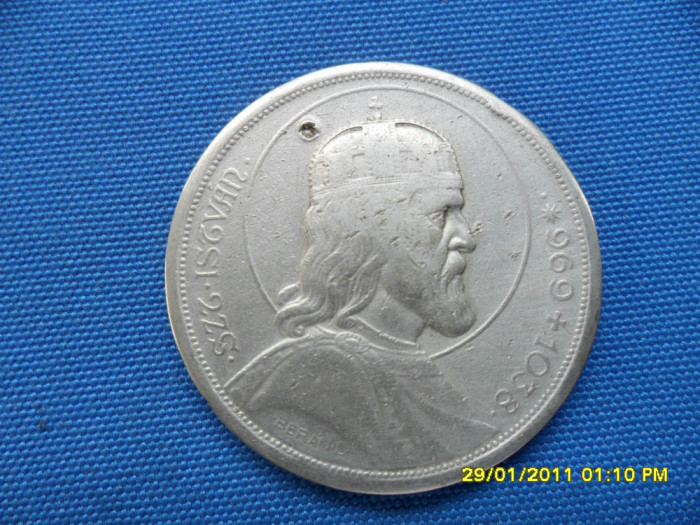 5 PENGO 1938 /Ag