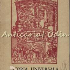 Istoria Universala A Teatrului II - Ion Zamfirescu