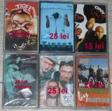 Caseta audio Hip Hop/rap romanesc,Racla,Cassa Loco,Naughty by Nature,Onix,Tiger1, Casete audio