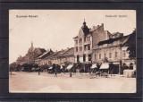 SATU MARE   PIATA   CIRCULATA  FELDPOST  1916