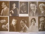 Lot Carte Postala actori anii '30-3