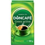 Cafea Macinata Doncafe Green Active, 500 g, Extract de Cafea Verde, Doncafe Green Active Cafea Macinata, Cafea Macinata cu Antioxidanti Naturali Donca