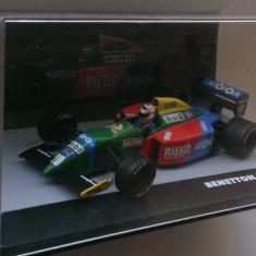 Macheta Benetton Ford B190 Nelson Piquet Formula 1 1990 - Altaya 1/43 F1