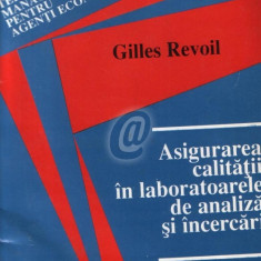 Asigurarea calitatii in laboratoarele de analiza si cercetari