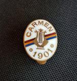 Insigna per. regalista Soc. corala Carmen - 1901 - muzica