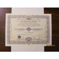 PVM - Actiune Nominativa 10000 lei Banca Internationala a Religiilor BIR 1996
