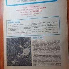 revista radio-tv saptamana 26 octombrie-1 noiembrie 1975