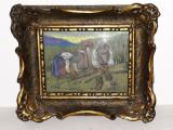 PICTOR MAGHIAR - VASS ALBERT ( 1896 - 1969 ) -STUDII BAIA MARE ,BUDAPESTA ,PARIS, Peisaje, Pastel, Impresionism