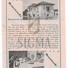 PLIANT, VILA FAMILIEI DEMETRIAD, MANGALIA, BALCIC , MENIURI, 4 PAG