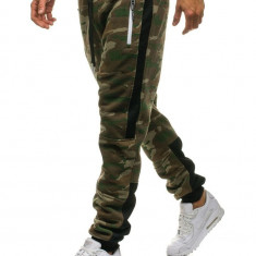 Pantaloni trening camuflaj multicolor Bolf 3783A