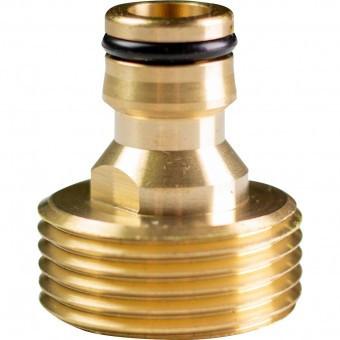 Adaptor robinet 3/4, Topgarden 400412, cu filet exterior, Alama foto
