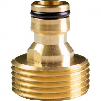 Adaptor robinet 3/4, Topgarden 400412, cu filet exterior, Alama