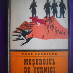 HOPCT  MUSUROIUL DE FURNICI / PAUL HENRIKS  - 1975 -166  PAGINI