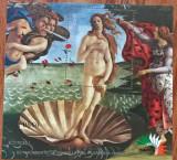 PARAGUAY-Picturi-''BOTTICELLI-Nud- Colita -MNH